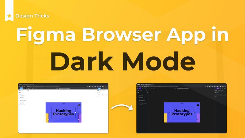 Figma Dark Mode