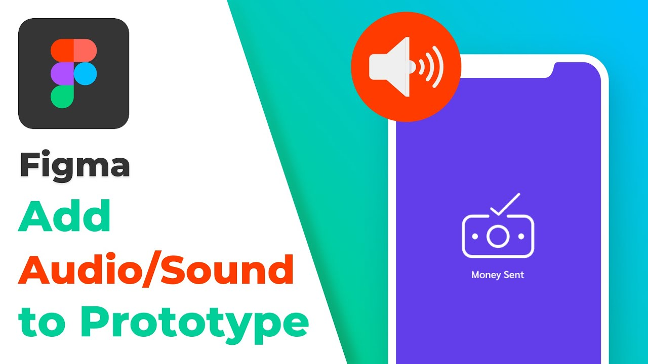 How to Add Audio/Sound to in Figma | Embed Audio in Prototype