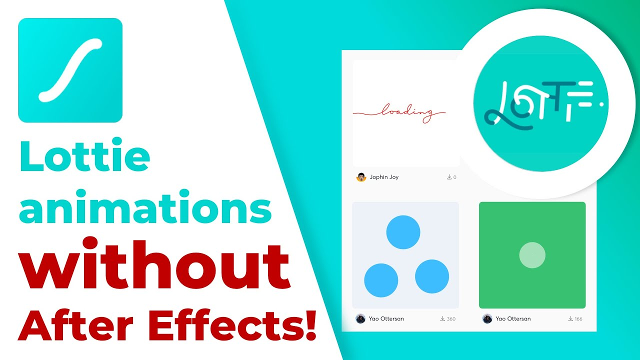 How to Create Lottie Animation without Adobe After Effects